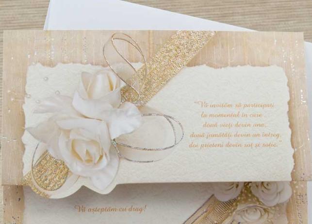Invitatiile De Nunta Prima Impresie Invitatii Nunta Invitatii
