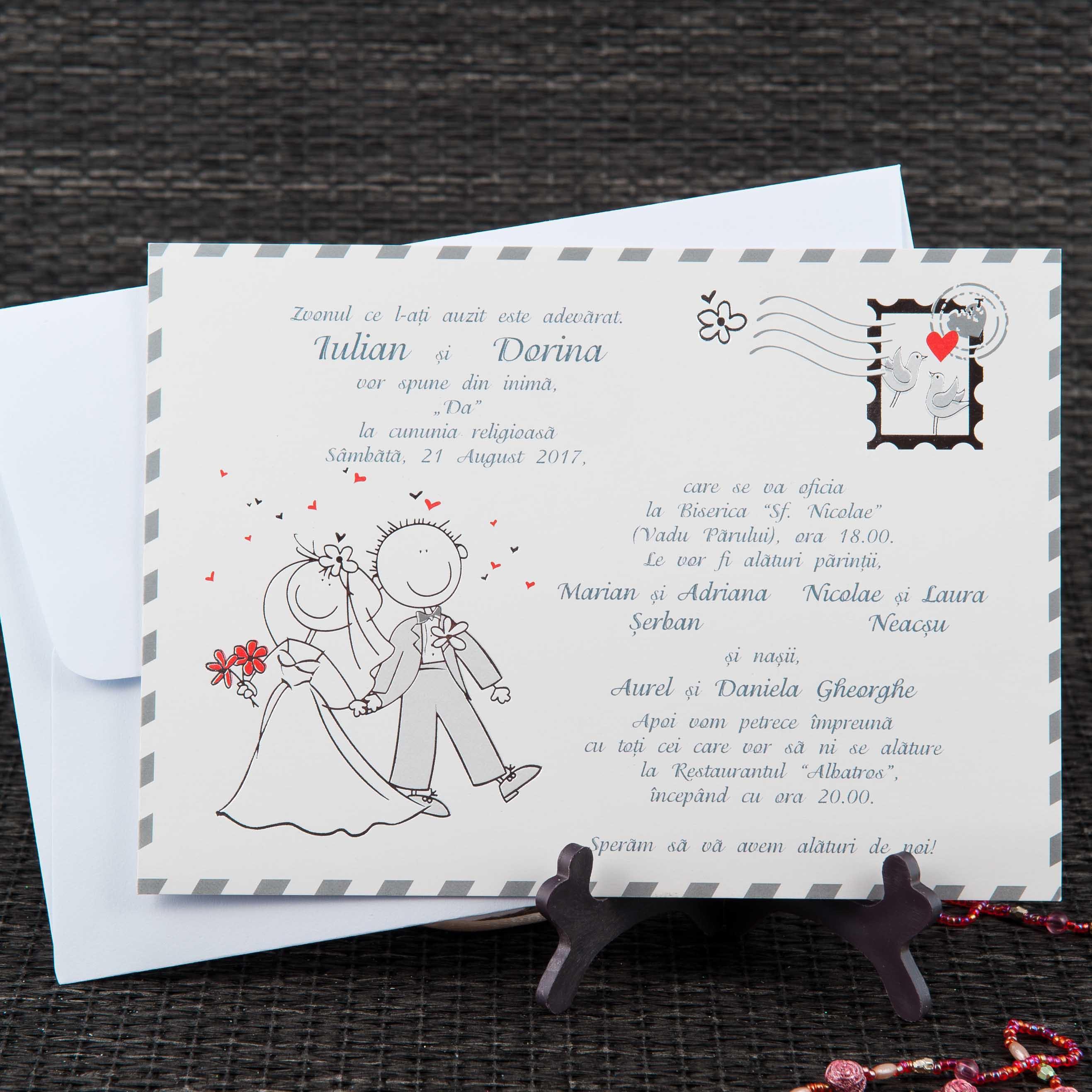 Haioase Invitatii Nunta Invitatii Botez Marturii Plicuri Bani