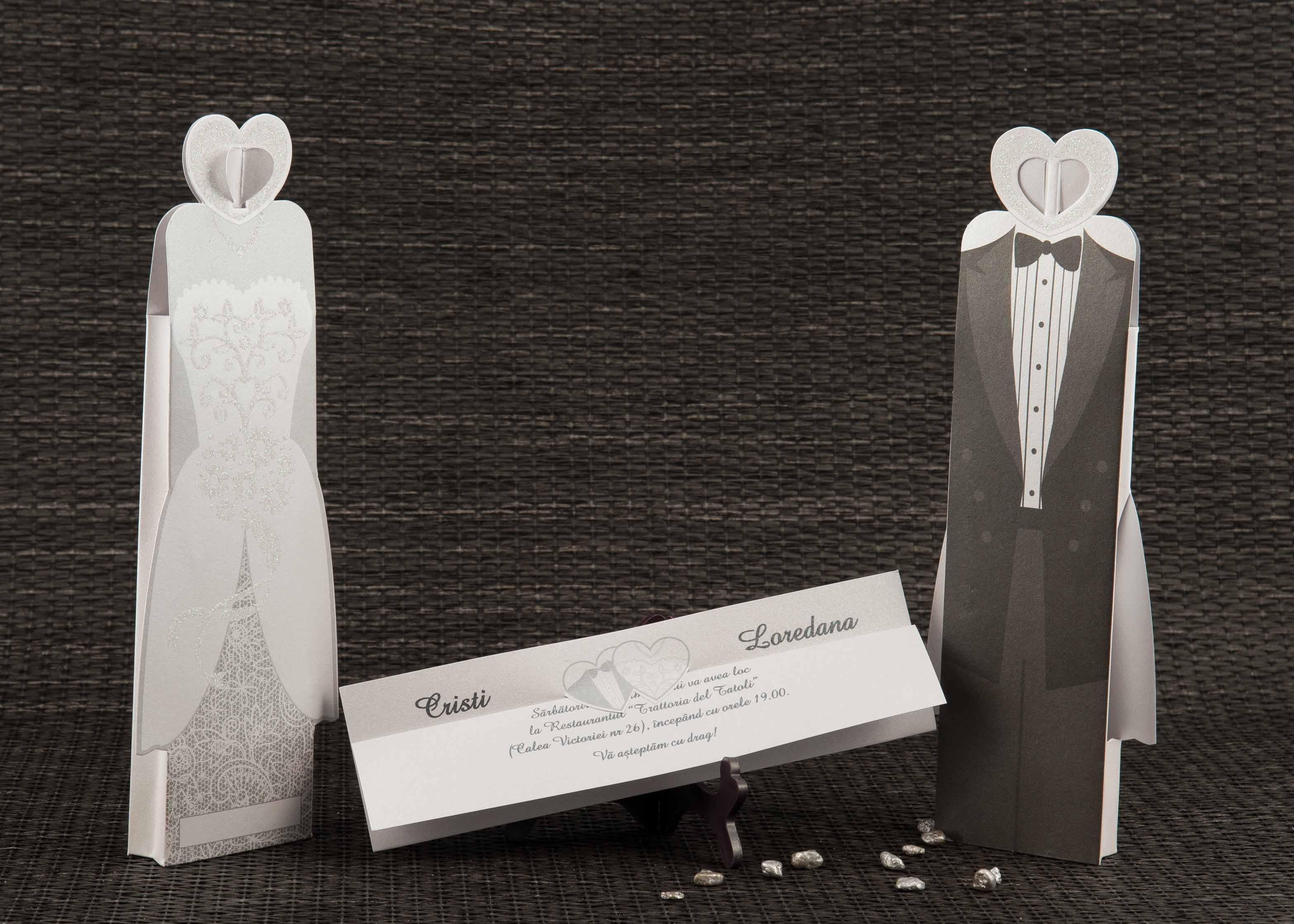 Invitatii Nunta Invitatii Botez Marturii Plicuri Bani Carduri Masa