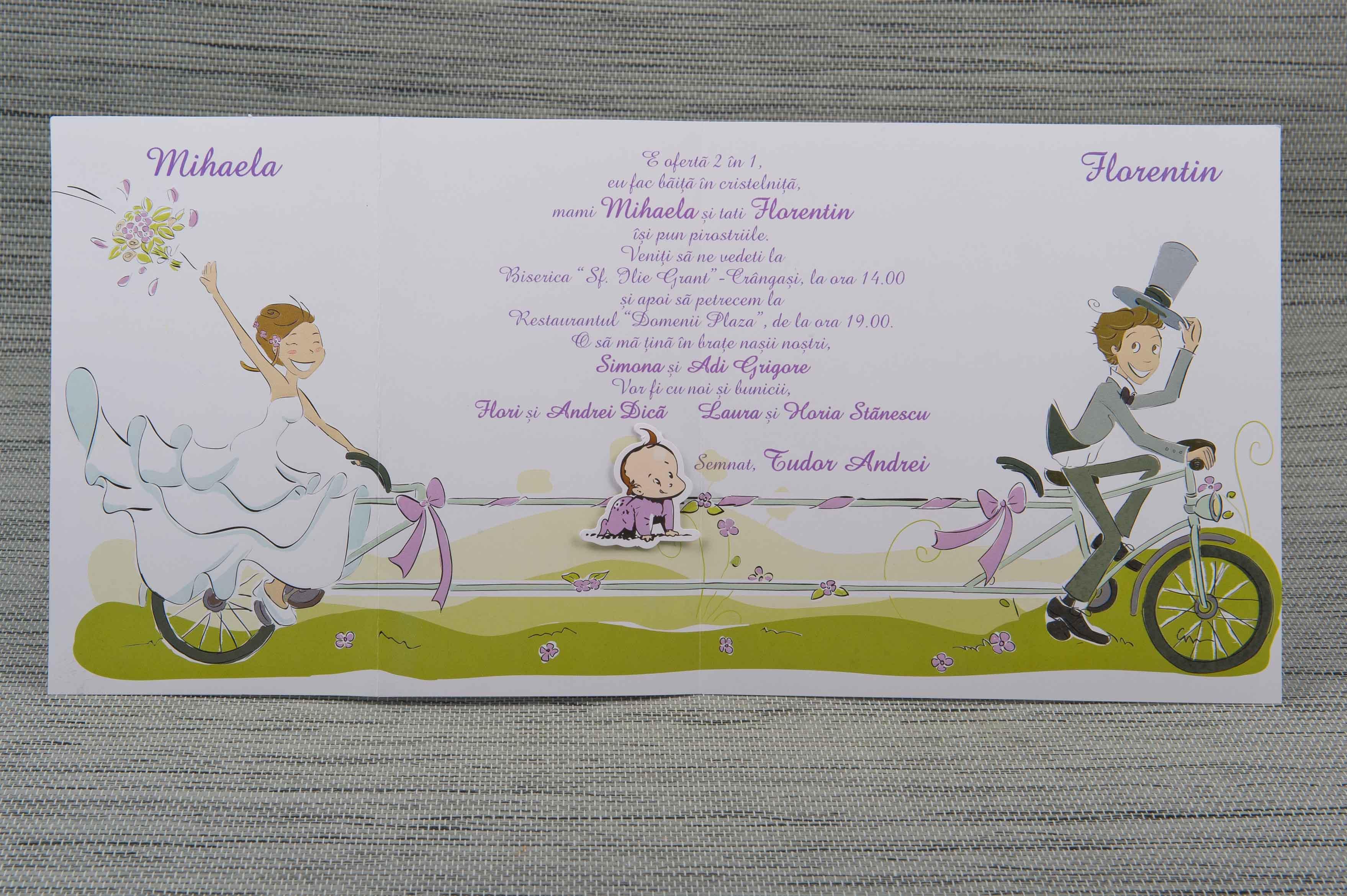 Invitatii Nunta Si Botez Invitatii Nunta Invitatii Botez Marturii