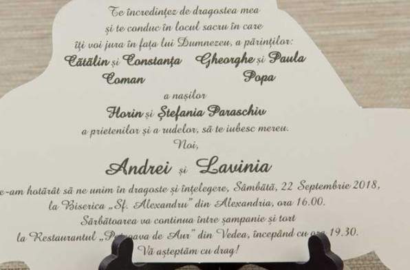 text invitatie de nunta